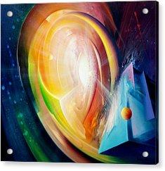 Sphere B11 Acrylic Print by Drazen Pavlovic