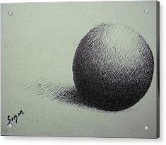 Sphere  Acrylic Print by SAIGON De Manila