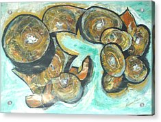 Acrylic Print featuring the painting Spheres And Kabbalah by Esther Newman-Cohen