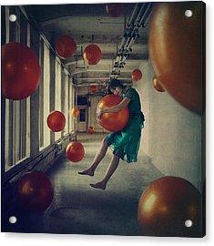 Spheres Acrylic Print by Anka Zhuravleva