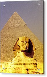 Sphinx And Pyramid Acrylic Print