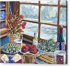 Spice Table By Prankearts Acrylic Print by Richard T Pranke