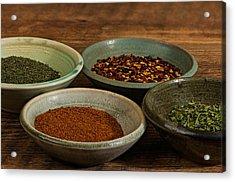Spices Acrylic Print