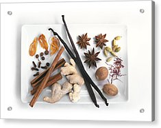 Spices Acrylic Print by Science Photo Library