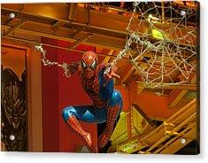 Spider Man Acrylic Print