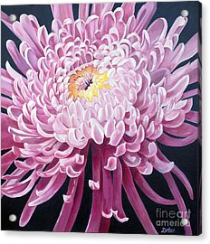 Acrylic Print featuring the painting Spider Mum by Debbie Hart