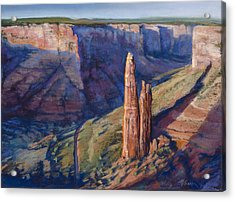 Spider Rock Canyon De Chelly Az Acrylic Print