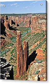 Spider Rock Canyon De Chelly Acrylic Print by Christine Till