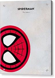 Spiderman 6 Acrylic Print by Mark Ashkenazi