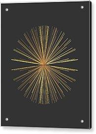 Acrylic Print featuring the digital art Spikes... by Tim Fillingim