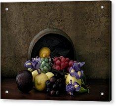 Spilled Fruit Acrylic Print