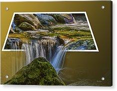 Landscape - Mountain - Spillover  Acrylic Print