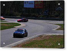 Spin Out Acrylic Print by Mike Martin