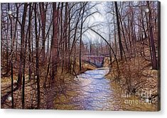 Spingtime In Western New York Acrylic Print
