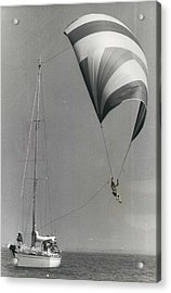 Spinnaker Flying At Cowes Acrylic Print