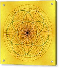 Spinning Around Acrylic Print by Tom Druin