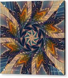 Spinning Energy Acrylic Print