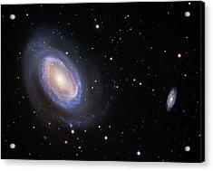 Spiral Galaxy Ngc 4725 Acrylic Print
