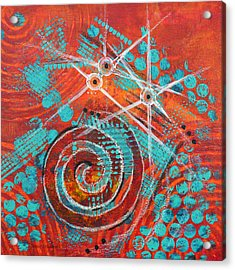 Spiral Series - Missive Acrylic Print by Moon Stumpp
