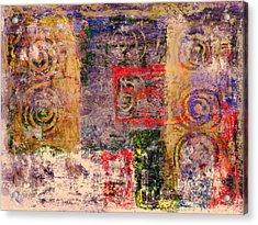 Spiral Spirits Texture Acrylic Print by Florin Birjoveanu