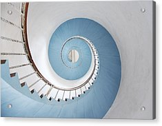 Spiral Staircase Acrylic Print by Acilo