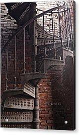 Spiral Staircase Depot Acrylic Print