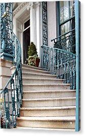 Spiral Stairs Acrylic Print by Sarah-jane Laubscher