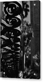 Spiraling  Acrylic Print by Tara Miller