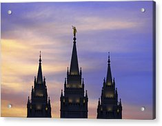 Spires Acrylic Print by Chad Dutson