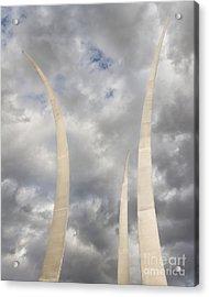Spires Upward-2 Acrylic Print by Dale Nelson