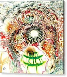 Spirit Crowd Acrylic Print by Anastasiya Malakhova
