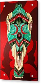 Acrylic Print featuring the painting Spirit  by Debbie Chamberlin