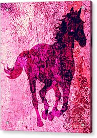 Spirit Equus  Acrylic Print by Mindy Bench