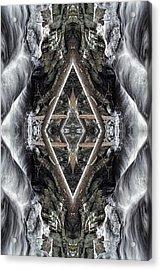 Spirit Gathering Acrylic Print by Dawn J Benko
