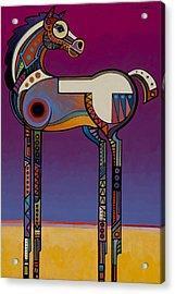 Spirit Horse Acrylic Print by Bob Coonts