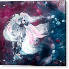 Spirit Horse Acrylic Print by Sherry Shipley