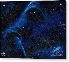 Spirit In Space Acrylic Print by Murphy Elliott