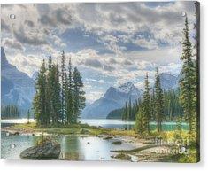 Spirit Island Acrylic Print