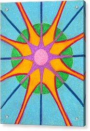 Spirit Mandala Acrylic Print