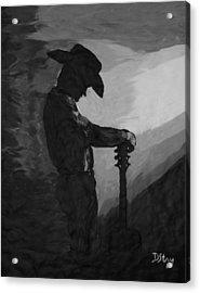 Spirit Of A Cowboy Acrylic Print