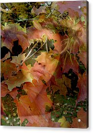 Acrylic Print featuring the photograph Spirit Of Autumn  by Jodie Marie Anne Richardson Traugott          aka jm-ART