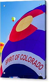 Spirit Of Colorado Proud Acrylic Print