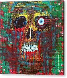 Spirit Of Davy Jones Acrylic Print