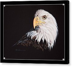 Spirit Of Freedom Bald Eagle Acrylic Print