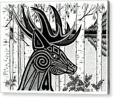 Spirit Of Gentle Strength Acrylic Print