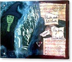 Spirit Of Halloween Acrylic Print
