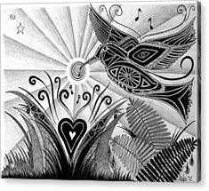 Spirit Of Joy  Acrylic Print