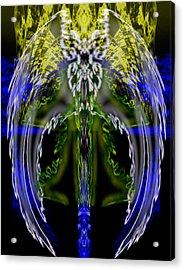 Spirit Of The Dragon Acrylic Print by Christopher Gaston