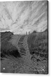 Acrylic Print featuring the photograph Spirit Sands by Cendrine Marrouat