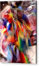 Spirits 3 Acrylic Print by Joe Kozlowski